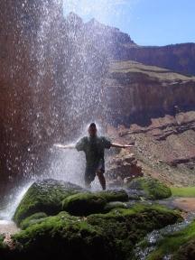 Ribbon Falls, Grand Canyon