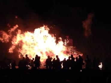 Hastings, UK Bonfire Festival