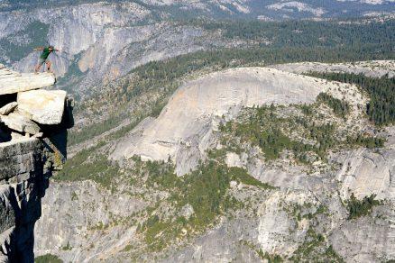 diving board, Yosemite National Park